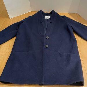 Women's navy color coat